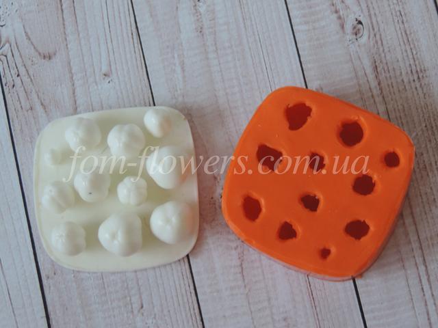 Силиконовые формы для глины и фарфора
