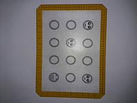 Силиконовый коврик для выпечки рр 30×40 см .