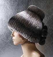 Женская меховая шапка Донышко