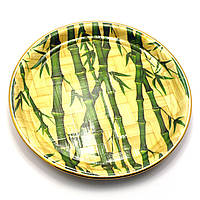 Тарелка бамбуковая круглая