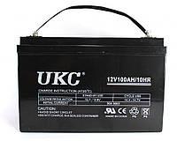 Аккумулятор UKC Battery 12V 100A Гелиевый