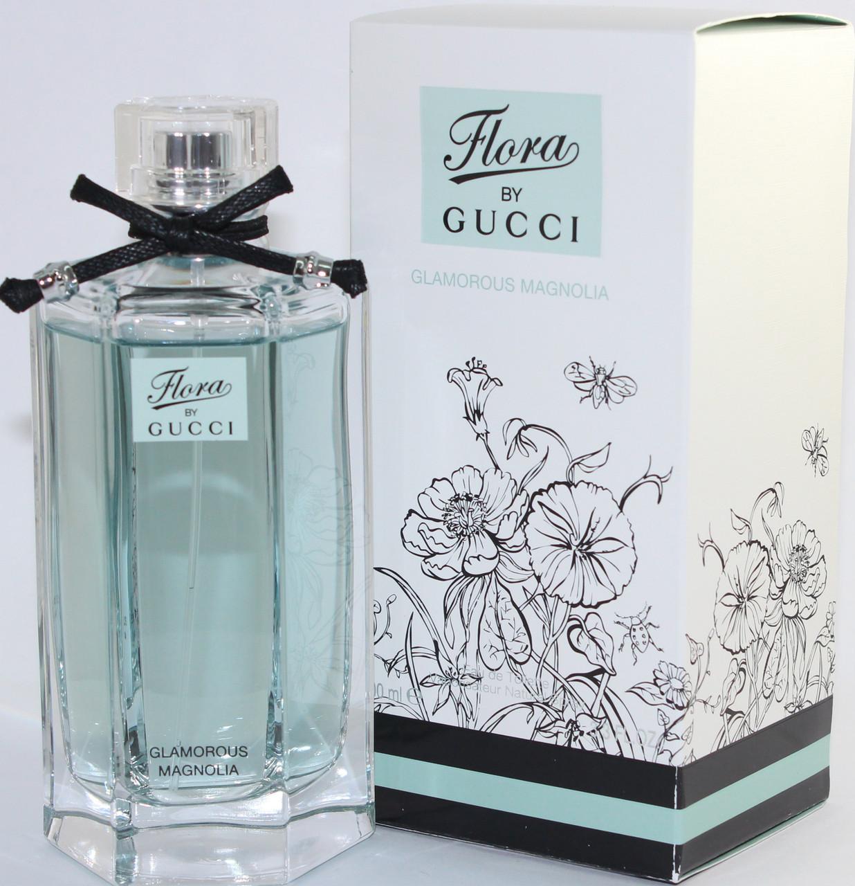 Женская парфюмерная вода Gucci Flora Glamorous Magnolia (Гуччи Флора  Гламурус Магнолия) 157eaad54a4ae