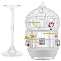 Ferplast (Ферпласт) Клетка для птиц (BALI) белая.   43 см* , фото 1