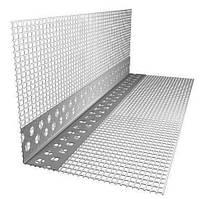 Угол перфорированный с сеткой алюминиевый ЭКО ПЛЮС  (3м)