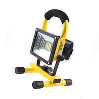 Портативный аккумуляторный прожектор 203 Led flood light Outdoor  30 W, фото 1