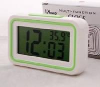 Часы будильник (говорящие) Kenko KK-9905, настольные электронные часы, фото 1