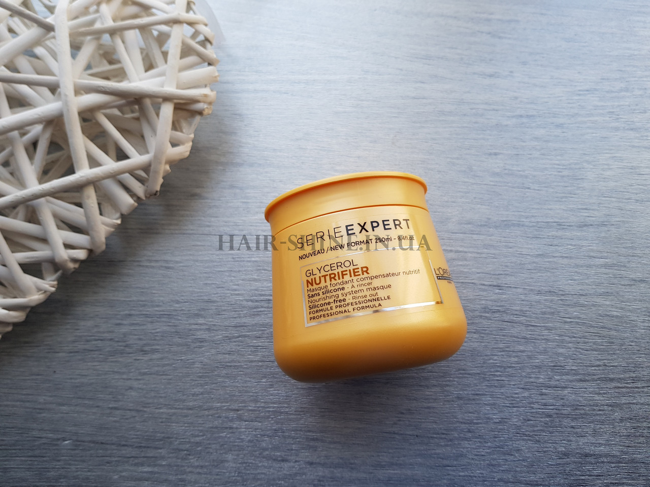 Маска для сухих волос 250мл - L'Oreal Professionnel Nutrifier glycerol  Masque