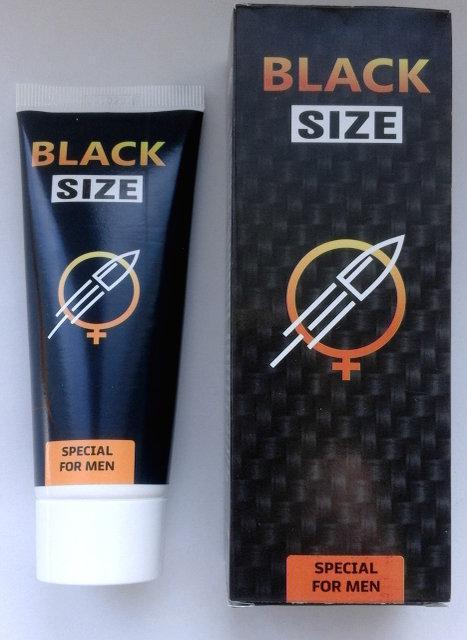 Black Size - Крем-гель для увеличения члена (Блек Сайз)