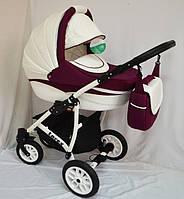 """Универсальная всесезонная детская коляска 2 в 1 """"Lorex"""" purple"""