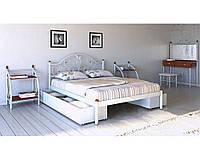 Металлическая кровать Анжелика 140х190 см. Металл-Дизайн