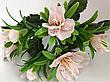 Искусственные цветы.Искусственный букет анютины глазки., фото 3