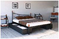 Металлическая кровать Калипсо 120х190 см. Металл-Дизайн