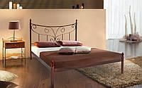 Металлическая кровать Луиза 140х190 см. Металл-Дизайн