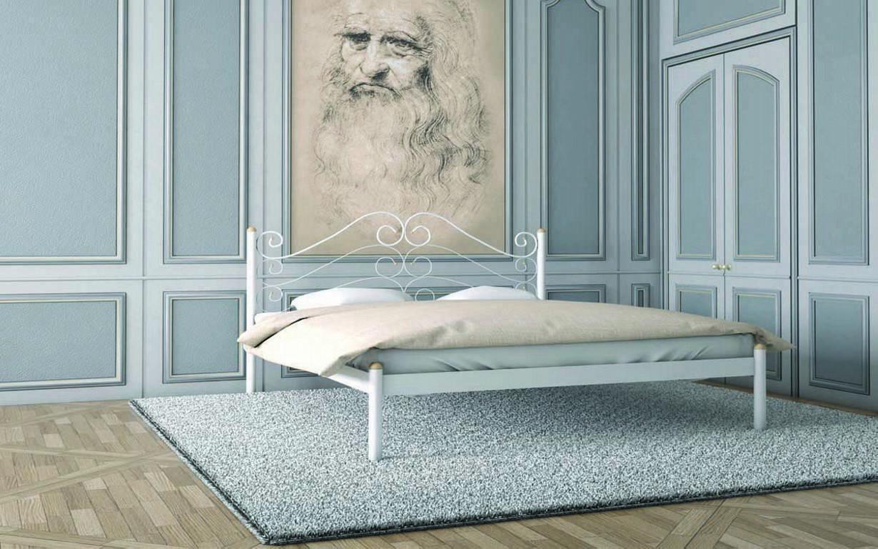Металлическая кровать Адель 120х190 см. Металл-Дизайн
