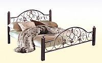 Металлическая кровать Жозефина 140х190 см. Металл-Дизайн