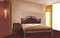 Металлическая кровать Эсмеральда 140х190 см. Металл-Дизайн