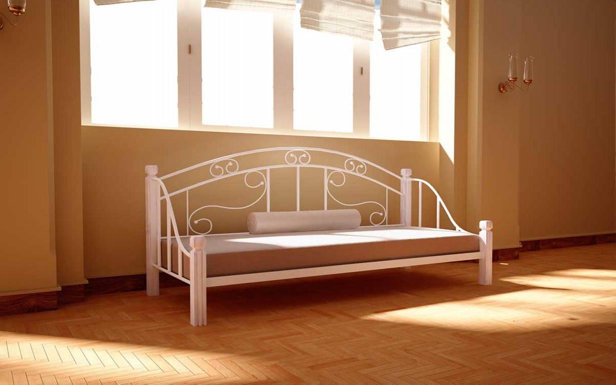 Металлическая кровать Орфей 80х190 см. Металл-Дизайн