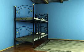 Двухъярусная кровать Диана 80х190 см. Металл-Дизайн
