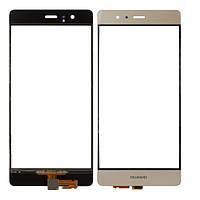 Стекло (для ремонта дисплея) Huawei Honor P9, золотистое