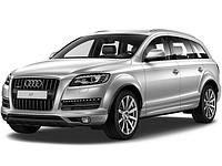 Audi Q7 - замена линз Valeo на биксеноновые линзы KOITO D3S