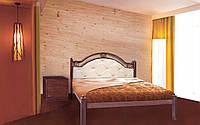 Металлическая кровать Эсмеральда Люкс 140х190 см. Металл-Дизайн