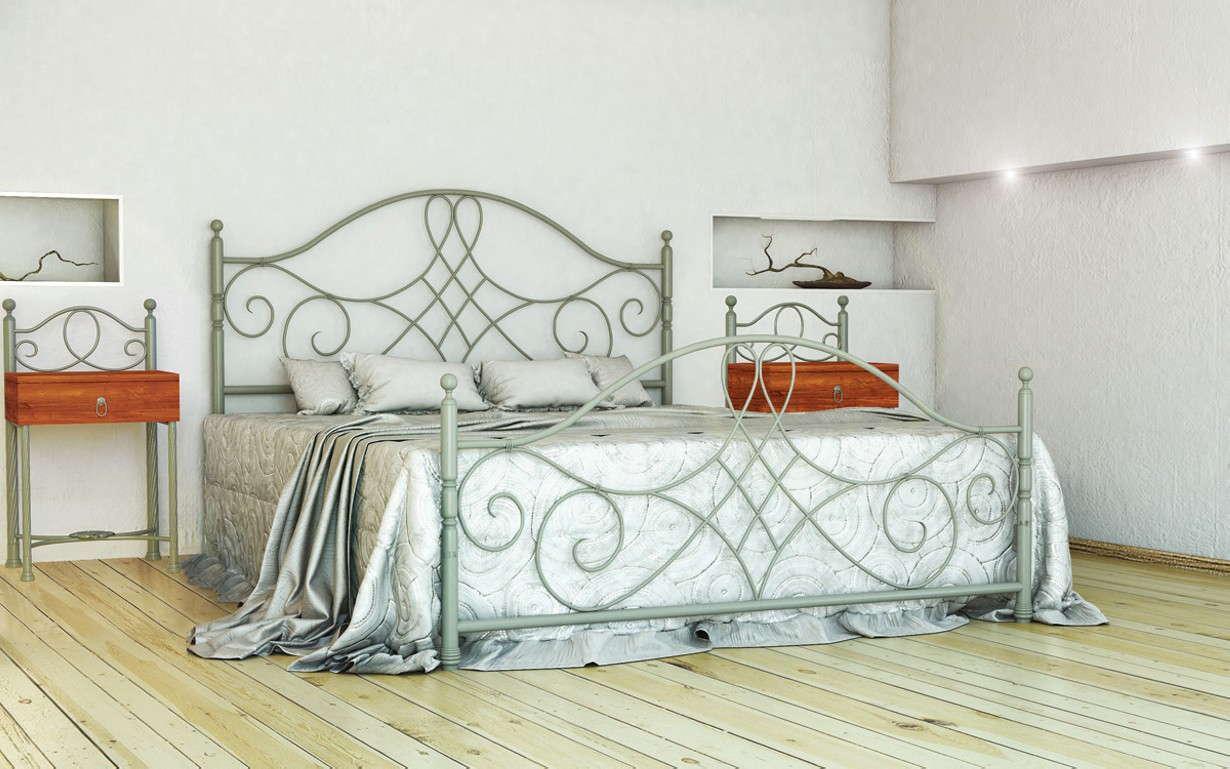 Металлическая кровать Парма 160х190 см. Металл-Дизайн