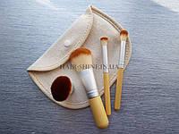 Набор кистей для макияжа из 4 шт-TOOLS FOR BEAUTY