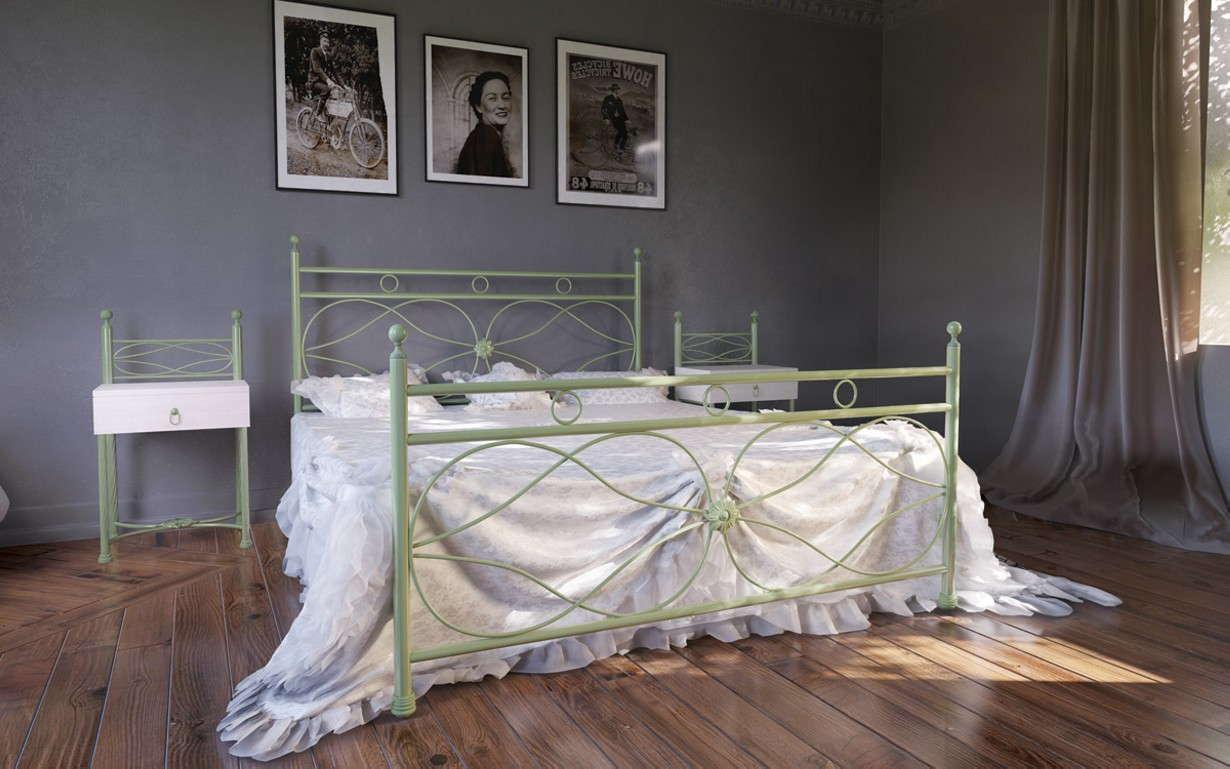 Металлическая кровать Виченца 90х190 см. Металл-Дизайн