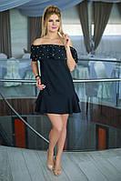Нарядное черное Платье Селена, фото 1