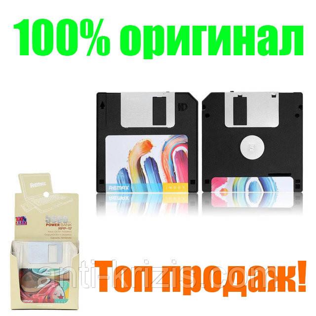 Портативний зарядний пристрій Remax Disk RPP-17 5000mAh, Black