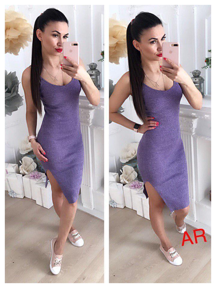 Платье. Фабричный Китай.Люкс качество.Ткать трикотаж резинка Размер 42/46(11305)