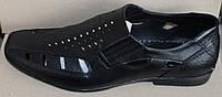Туфли летние мужские из натуральной кожи от производителя модель ТМ - 23