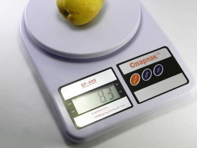 Весы Кухонные Электронные   ACS SF 400 СПАРТАК  до 10kg
