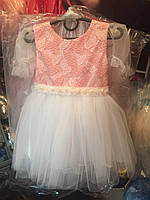 Платье детское нарядное с пышной фатиновой юбкой на девочку только опт