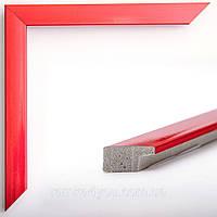 Фоторамка 15x21 16 мм красная