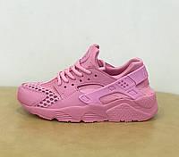 Женские кроссовки Nike Air Huarache Run Sunset Pink розовые гуарачи