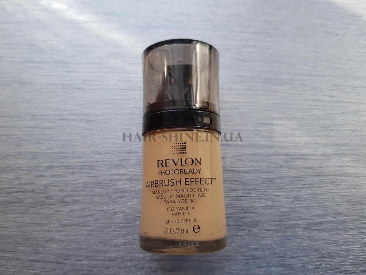 Тональный Крем Revlon Photoready Airbrush Effect Makeup Vanilla 002 30 мл