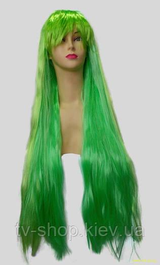 Парик ультрадлинный зеленый