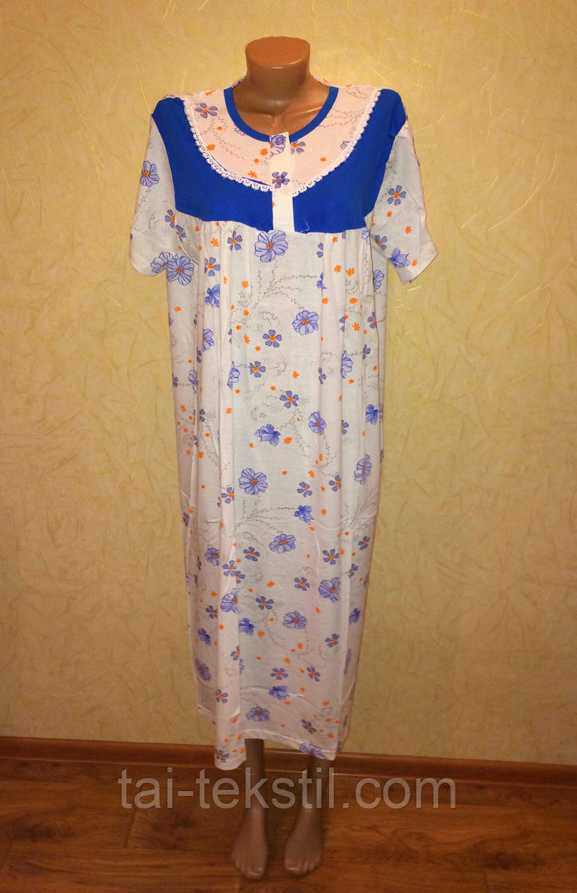 Oncu ночная рубашка больших размеров хлопок в разных цветах Турция (58-60р)