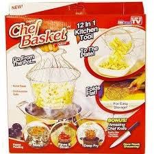 Складная решетка Magic Kitchen Chef Basket, фото 2