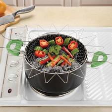 Складная решетка Magic Kitchen Chef Basket, фото 3