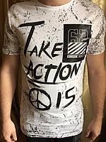 Мужская футболка (42, 44, 46, 48, 50) —коттон купить оптом и в Розницу в одессе украина 7км