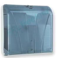 Диспенсер для бумажных полотенец АБС пластик, 9280 голубой