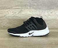 Женские кроссовки Nike Presto Air Black черные
