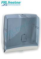 Диспенсер для листовых бумажных полотенец АБС пластик, 1270 голубой