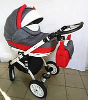 """Универсальная всесезонная детская коляска 2 в 1 """"Elegance"""" в цветах"""
