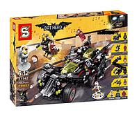 Конструктор Senco Бэтмен SY942 Крутой Бэтмобиль (аналогThe Lego Batman movie 70917)