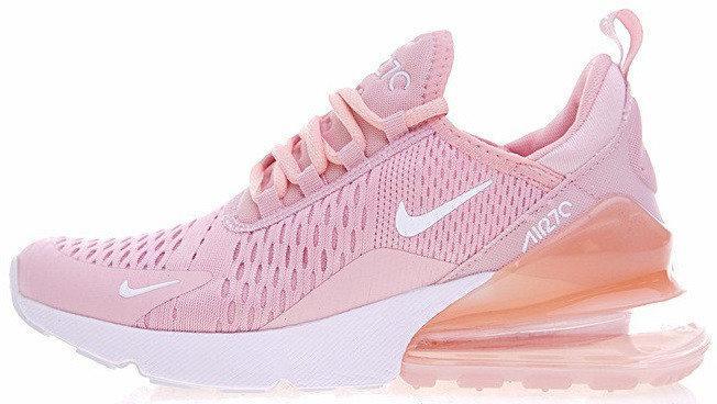 Женские кроссовки Nike Air Max 270 (Найк Аир Макс) розовые