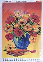 Схема для вышивания бисером - Тюльпаны 1шт.