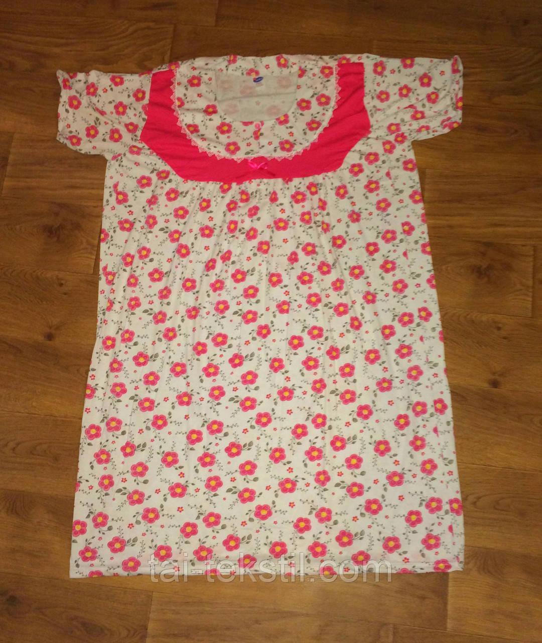 Oncu ночная рубашка очень больших размеров хлопок в разных цветах Турция (62-64р)